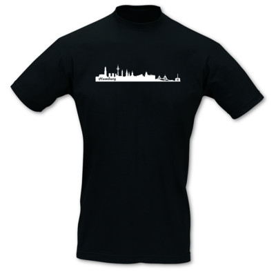 Hamburg Skyline Collage T-Shirt