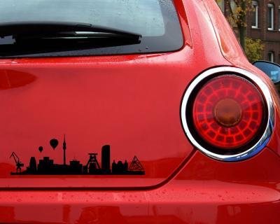 Aufkleber Ruhrgebiet Mit Sehenswürdigkeiten Skyline4u