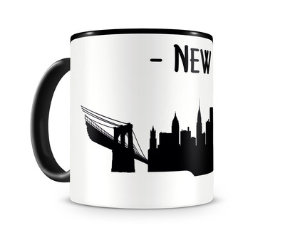 New York Skyline Kaffee / Teetasse