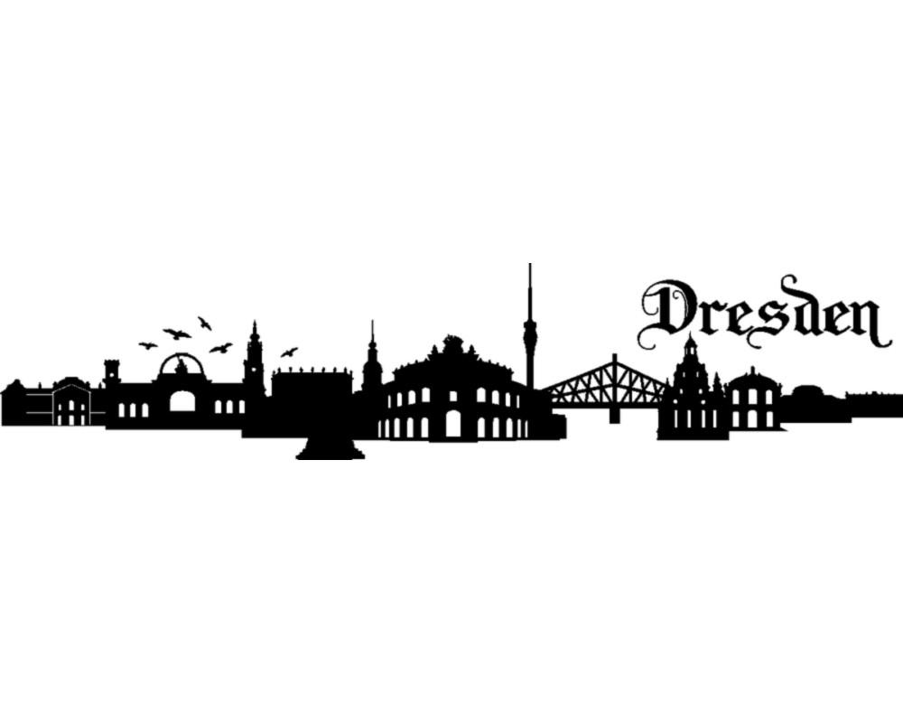 Cool Skyline Dresden Foto Von Wandtattoo Wandtattoo