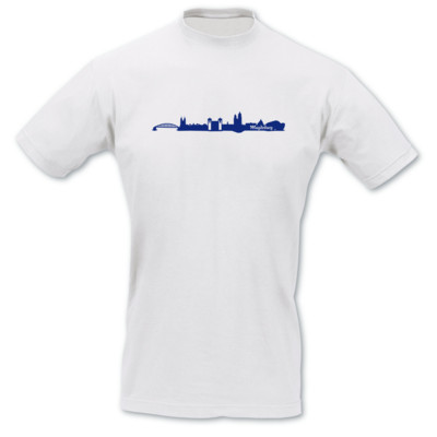 Magdeburg Skyline Collage T-Shirt