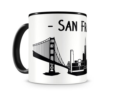 San Francisco Skyline Kaffee / Teetasse