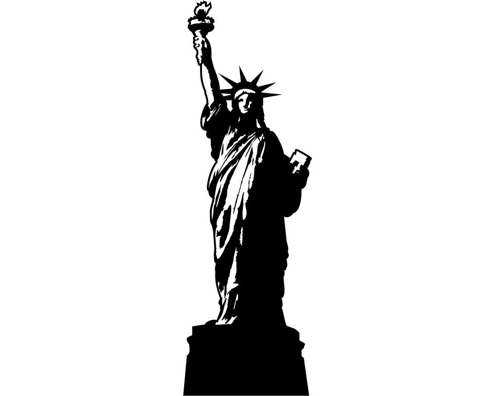 Bezaubernd New York Wandtattoo Das Beste Von Freiheitsstatue