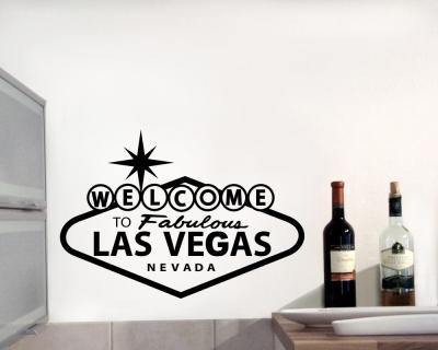 'Welcome to Las Vegas' Wandtattoo
