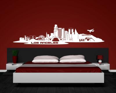 wandtattoo skyline melbourne reuniecollegenoetsele. Black Bedroom Furniture Sets. Home Design Ideas
