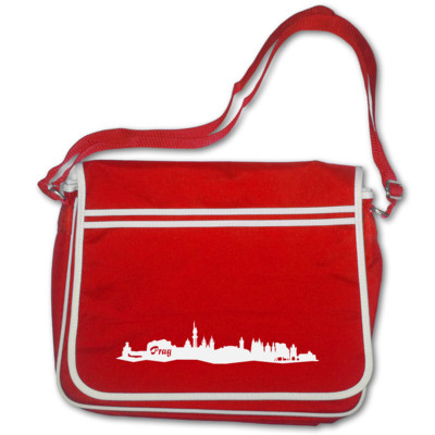 Prag City Skyline Tasche