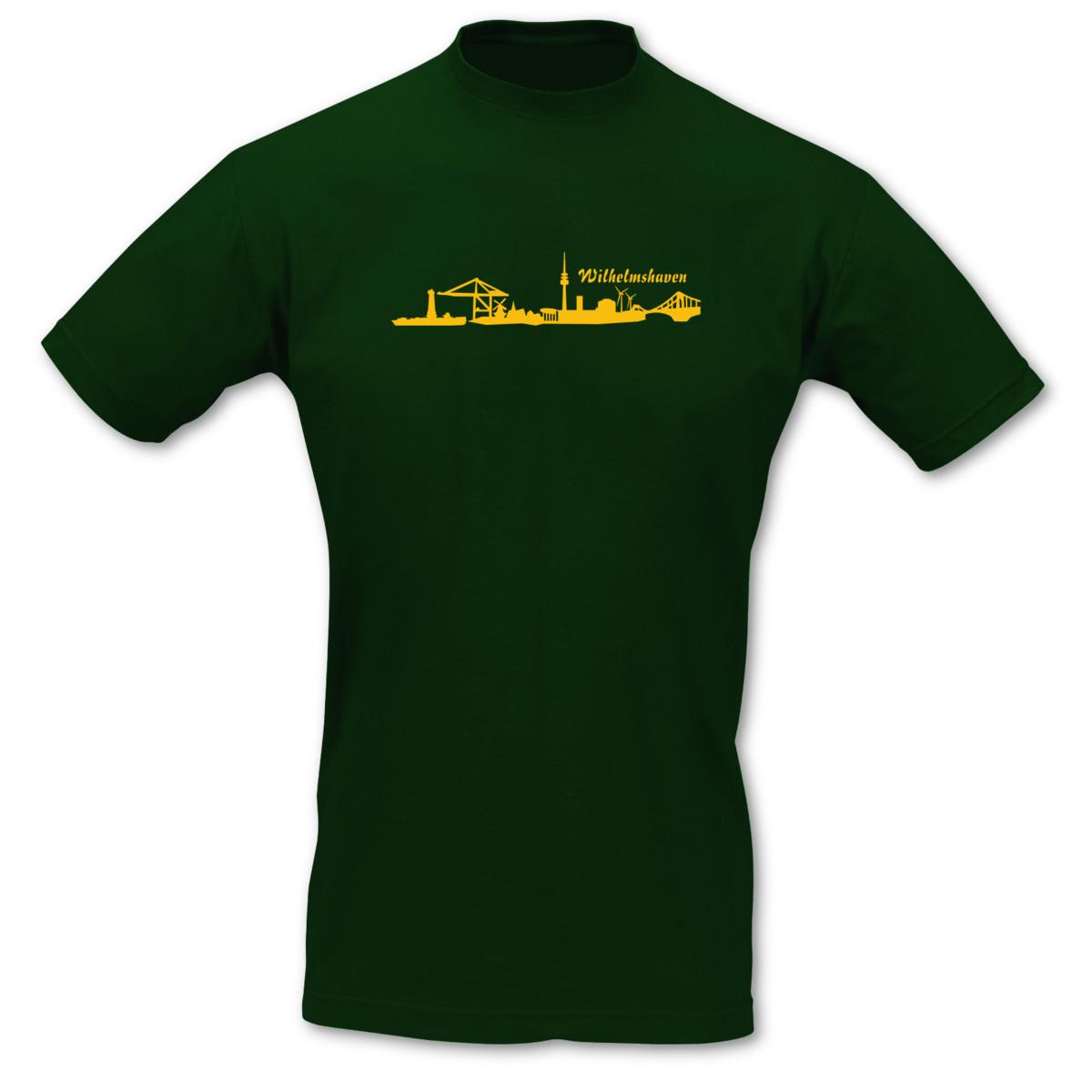Wilhelmshaven Skyline T-Shirt T-Shirt