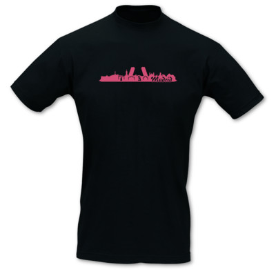 Madrid Skyline T-Shirt