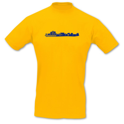 Bukarest Skyline T-Shirt