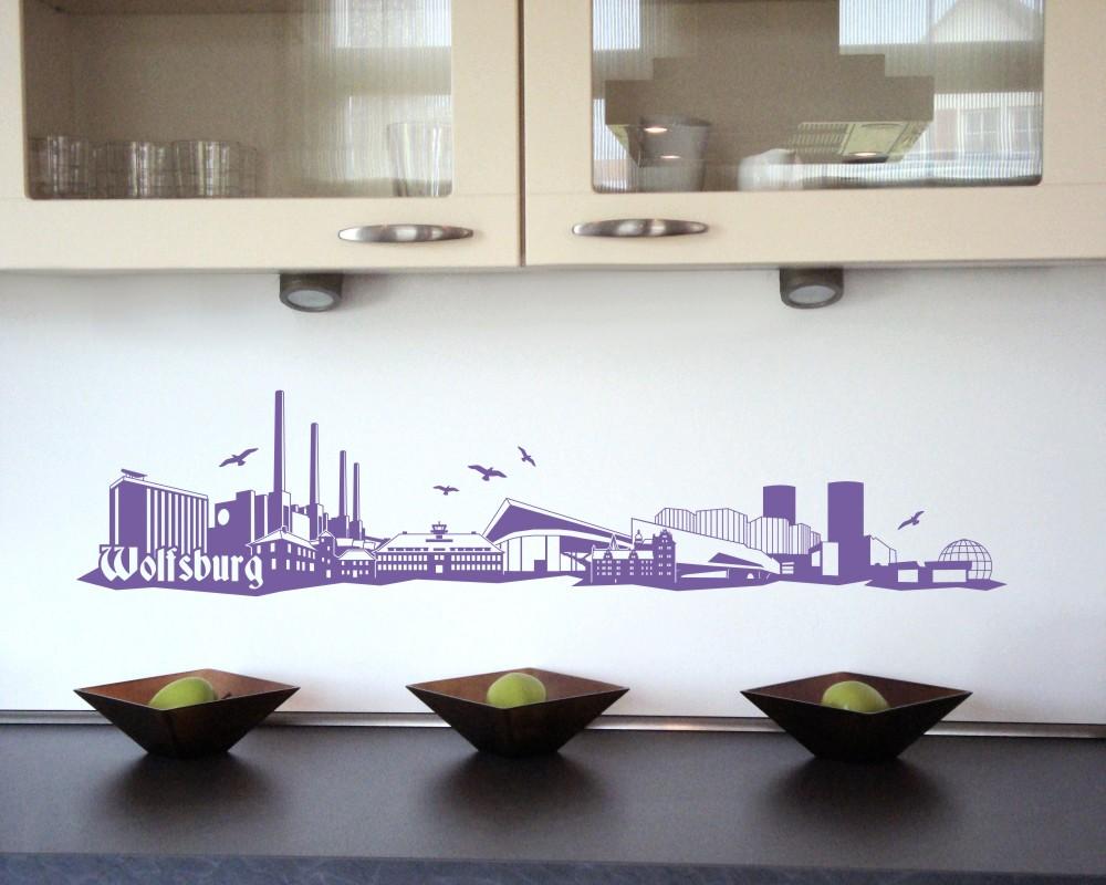 wandtattoo wolfsburg mit sehensw rdigkeiten ebay. Black Bedroom Furniture Sets. Home Design Ideas