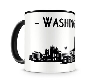 Washington, D.C. Skyline Kaffeetasse Kaffeepott