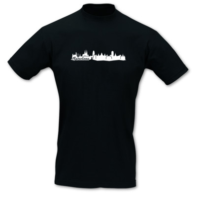 Barcelona Skyline Collage T-Shirt
