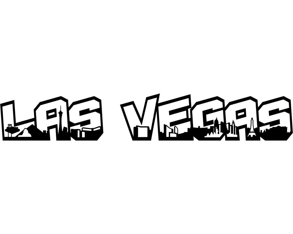 Las Vegas Schriftzug
